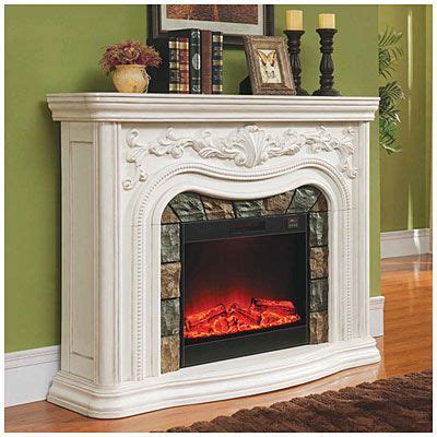 grand white electric fireplace  big lots pinteres