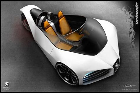 awesome peugeot car top 10 awesome concept cars peugeot cars and wheels