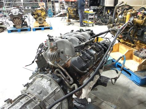 Rv Chassis Parts Used Chevy Vortec 8100 81l Engine With