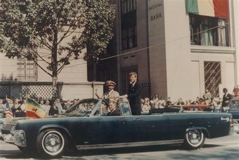 Jfk Limousine by F Kennedy S Lincoln Limousine Served After His
