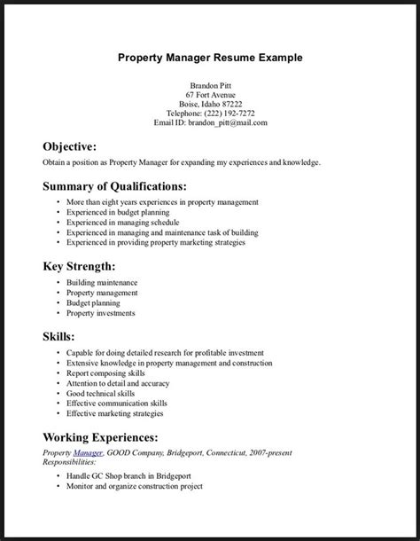 What Are Some Exles Of Skills For A Resume by What Are Some Skills To Put On A Resume Project Scope