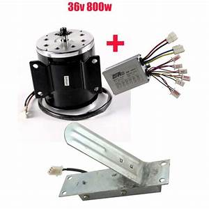 36v 800w Electric Brush Motor Speed Controller Foot Pedal