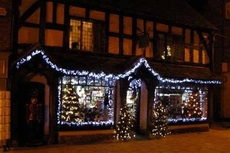 187 stratford upon avon christmas market and light switch on