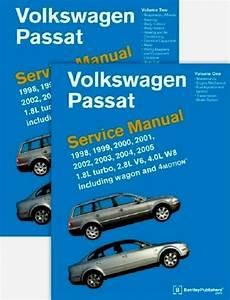 Vw Passat 98 To 05 Bentley  Vp05 Printed 2 Book Set
