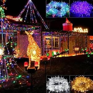 Lichterkette Außen Weihnachten : led innen au en lichterkette weihnachten party lichterschlauch beleuchtung kette ebay ~ Buech-reservation.com Haus und Dekorationen