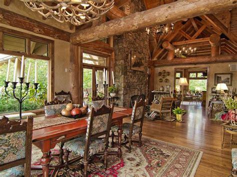 Replica of Jack Hanna's Montana Ranch, Dining Room | HGTV