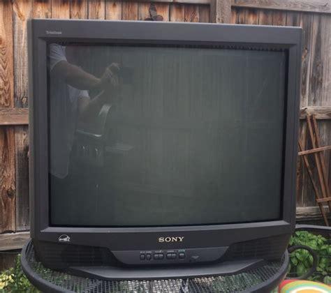 sony wega 42 inch replacement l sony fd trinitron wega kv 27s42 27 quot crt television ebay