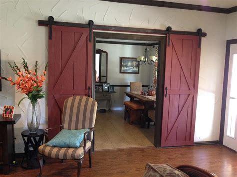 hanging barn doors remodelaholic 35 diy barn doors rolling door hardware