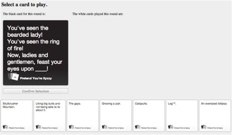 As the classic used to say: Where Can I Play Cards Against Humanity Online for Free?