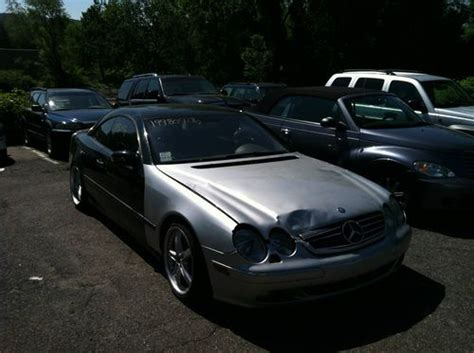 Buy Used 2001 Mercedes-benz Cl500 Base Coupe 2-door 5.0l