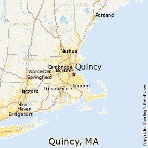places    quincy massachusetts