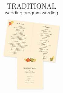 how to word your wedding programs invitations by dawn With wedding program wording ideas