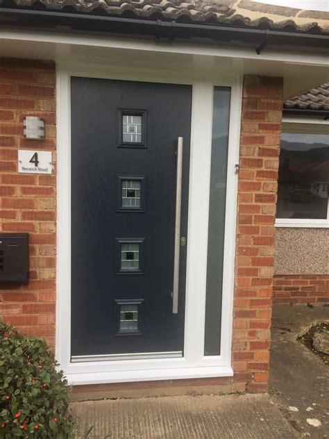 garage door composite door flat roof roofline installations cheltenham gloucester cladding
