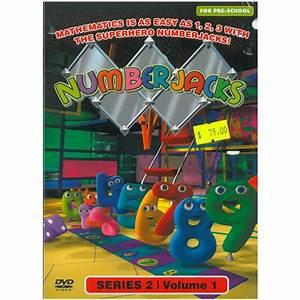 Numberjacks Series 2 Vol  1
