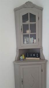 Meuble D Angle : meuble d 39 angle vintage customis ~ Teatrodelosmanantiales.com Idées de Décoration