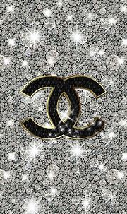 Chanel iphone 5s wallpaper!! | Chanel wallpapers, Bling ...