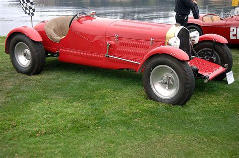 1933 Alfa Romeo Wynn-bamford Special At The Castle Village