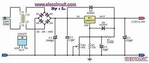 My First Variable Dc Power Supply 1 2v To 30v 1a By Lm317  U2013 Schematic Diagrams