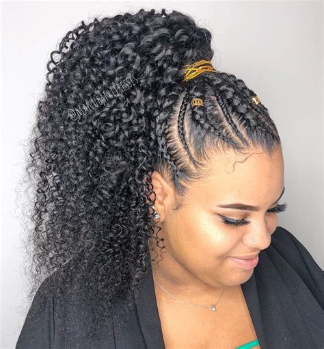 Cornrows And Curls Hairstyles by 50 Really Working Protective Styles To Restore Your Hair