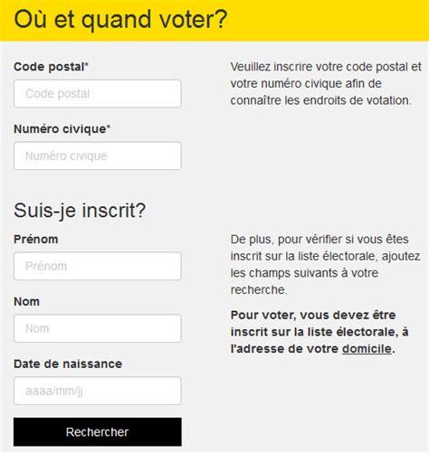 comment connaitre mon bureau de vote connaitre bureau de vote connaitre bureau de vote