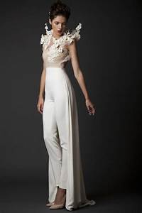 25 unconventional bridal pants suits for the modern With wedding dress pants