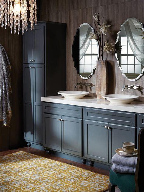 northbrook birch graphite small bathroom cabinets