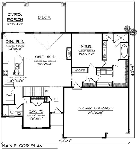House Plan 75291 Southwest Style with 1904 Sq Ft 2 Bed