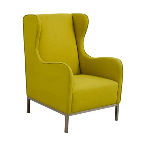 90% Off  Crate And Barrel Crate And Barrel Neon Green