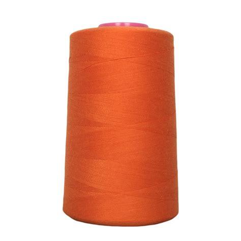 fil de couture cone de fil 224 coudre orange 4 573 m 100 polyester