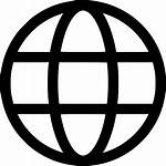 Icon Circle Web Round Earth Wide Svg