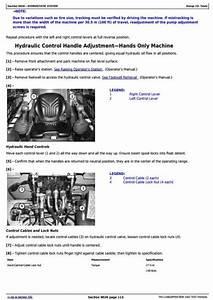 John Deere 326d  328d  332d Skid Steer Loader W Manual