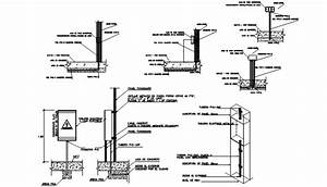 Light Electrical Fuse Blocks 2d View Autocad Software