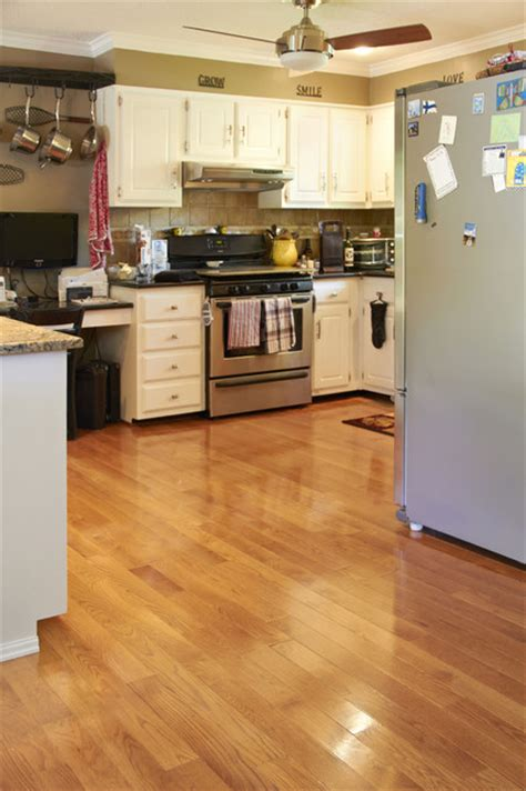 Gunstock Oak Flooring Kitchen Oak Gunstock Stain Traditional Kitchen Other By Hardwoods4less Llc