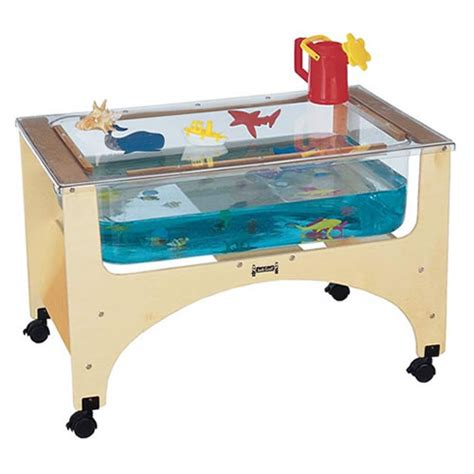 sensory table for sand and water table see through sensory table