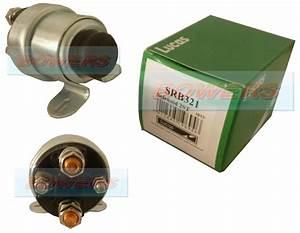 Genuine Lucas Srb321 24v Manual Push Button Starter Motor