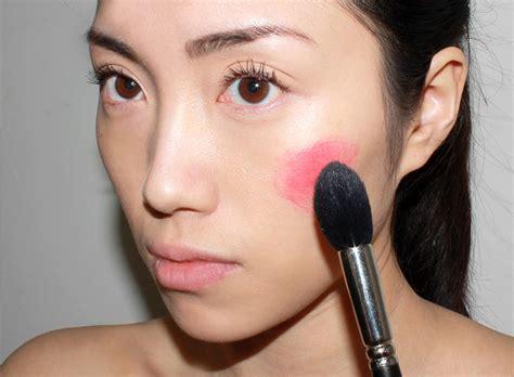 makeup tutorial   apply cream  gel blushes makeup  life