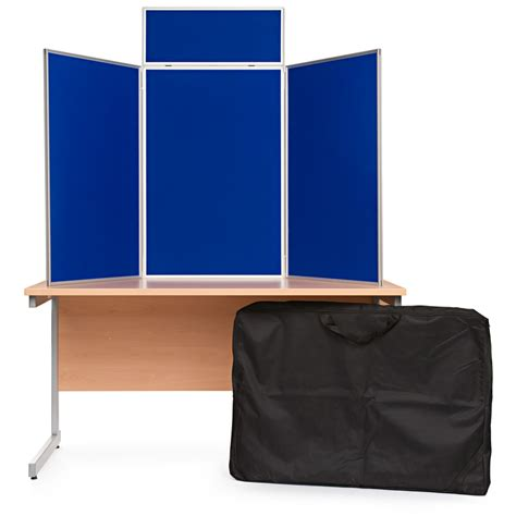 table top display risers 3 panel portrait table top display boards folding