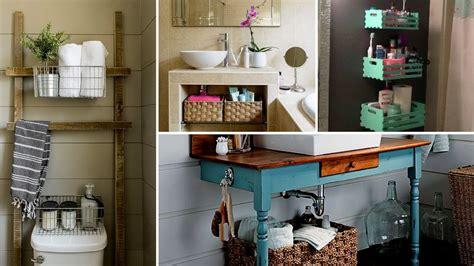 diy small bathroom organization  storage ideas