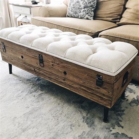 foot rest coffee table  storage