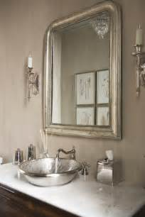 eloquence louis philippe silver mirror bathroom