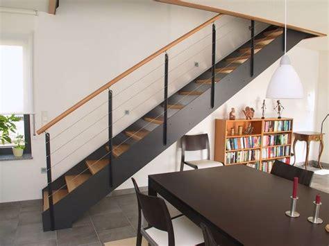 escalier metal noir et bois recherche d 233 co salons and attic