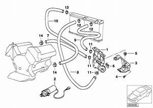 Bmw 750il Hose F Water Valve And Right Radiator