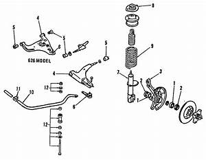 1993 Mazda 323 Suspension Strut Mount