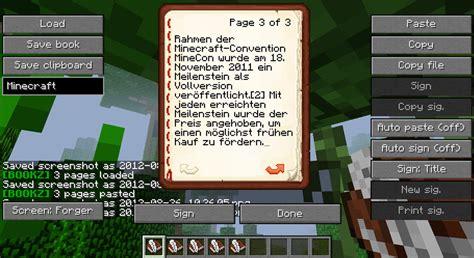 Mod Bookz สำหรับ Minecraft 152162