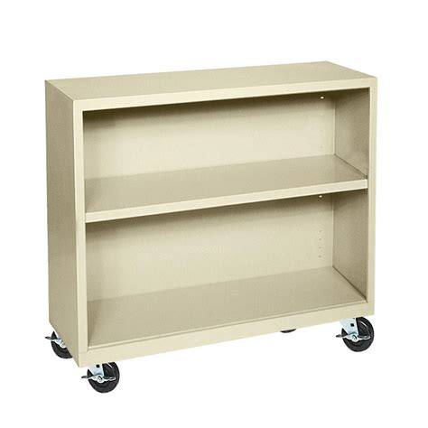 Steel Bookcase by Sandusky Putty Mobile Steel Bookcase Bm10361830 07 The