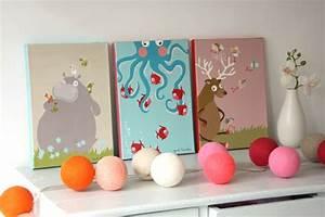 Tableau Chambre Bébé Garçon : tableau pour chambre garcon visuel 3 ~ Teatrodelosmanantiales.com Idées de Décoration