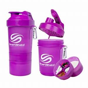 SMARTSHAKE 200oz 600ml neon purple Farmacia Del Ni±o