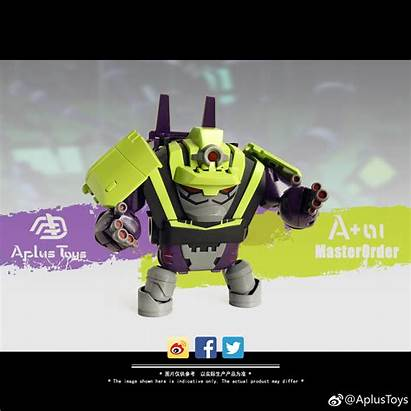 Devastator Animated Boss Dirt Prototype Toys Master