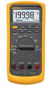 Fluke 80 Series Industrial Multimeters With Lifetime Warranty