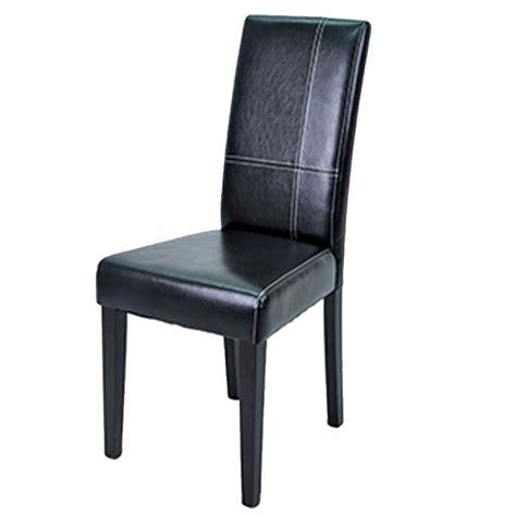 chaise salle manger noir